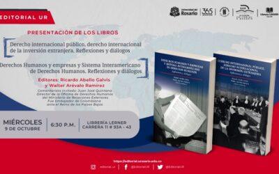 Dos nuevos libros coeditados por Ricardo Abello Galvis