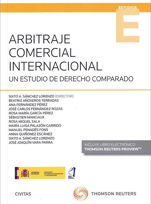 INTERNATIONAL COMMERCIAL ARBITRATION (A COMPARATIVE STUDY)