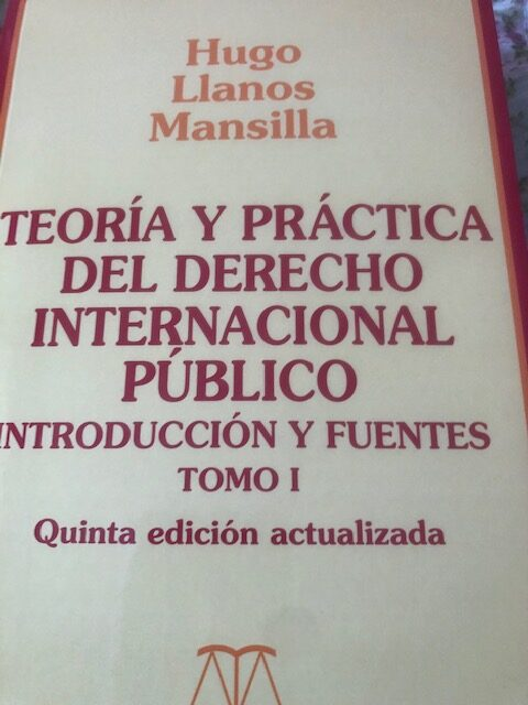 Theory and Practice of Public International Law by Dr. Llanos Mansilla